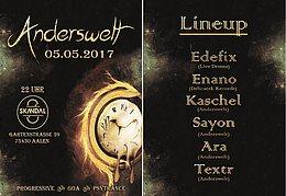 Party flyer: ॐ╭დ╯Anderswelt (05.05.2017)╰დ╮ॐ 5 May '17, 22:00