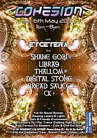 Party flyer: Cohesion PsyTrance Adventure 6 May '17, 23:00