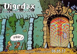 Party flyer: Digedax 6 May '17, 23:30