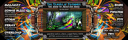 Party flyer: The Temple of psytrance 7 : the toxic alien 12 May '17, 22:00