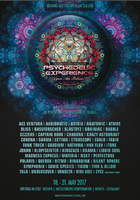 Party flyer: Psychedelic Experience Open Air Festival 2017 18 May '17, 20:00