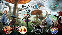 Party flyer: Live Spirit in Wonderland (Live Psy & Progressive Trance) 19 May '17, 23:00