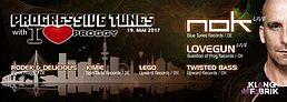 Party flyer: Progressive Tunes w/ I Love Proggy 19 May '17, 23:00