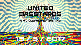 Party flyer: United Basstards - A Mukkepack Gathering 19 May '17, 21:00
