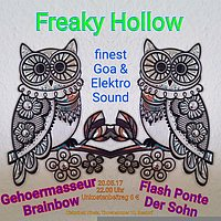 Party flyer: Freaky Hollow 20 May '17, 22:00