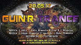 Party flyer: Guin 'R Trance - Amb Mimesis! 20 May '17, 18:00