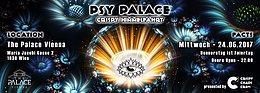 Party flyer: C³ ••• Psy Palace - Crispy Himmelfahrt 24 May '17, 22:00