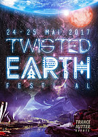 Party flyer: Twisted Earth - A psychedelic journey at 4 areas 24 May '17, 19:00