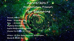 Party flyer: The Beginning 26 May '17, 22:00