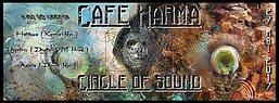 Party flyer: Café Karma meets Circle of Sound 2.0 with Djantrix / Hatikwa / Aquila / Arkomo 27 May '17, 22:00