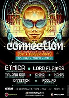 Party flyer: Connection 2017 Teaser Party (SemantiK-Om - Mothership) 27 May '17, 22:00