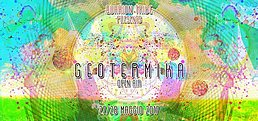 Party flyer: GEOTERMIKA Quarion Tribe 13 years celebration 27 May '17, 16:00