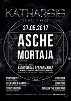 Party flyer: Katharsis: Tribute to KayOz ~ with Asche, Mortaja and lots more 27 May '17, 23:00