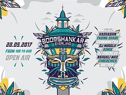 Party flyer: BoOMshankar Ever Land 28 May '17, 09:00
