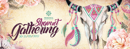 Party flyer: Moksha project - Shavout gathering 30 May '17, 23:30