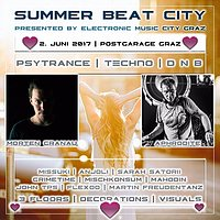 Party flyer: Summer Beat City with Morten Granau & Aphrodite 2 Jun '17, 22:00