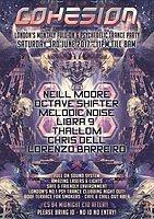 Party flyer: Cohesion Psytrance Adventure 3 Jun '17, 23:00