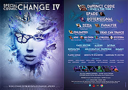 Party flyer: Special Cosmic Change 4 * Open Air * 10 Jun '17, 22:00