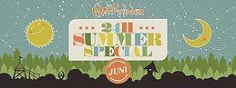 Party flyer: 24H Summer Special Juni 17 Jun '17, 16:00