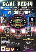 Party flyer: SOLSTICE RAVE PARTY 21 Jun '17, 15:00