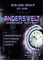 Party flyer: ॐ╭დ╯Anderswelt / Darkside Edition / 23.06.2017╰დ╮ॐ 23 Jun '17, 22:00