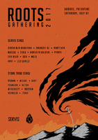 Party flyer: Roots Gathering 2017 1 Jul '17, 14:00