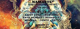 Party flyer: Sabado 01/07 Namaste en Vox (Sotano) 1 Jul '17, 23:59