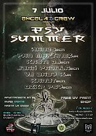 Party flyer: Encela2crew presents: Psysummer 7 Jul '17, 23:00