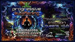 Party flyer: Psybox Progressive Awakening Mandragora - Klopfgeister - Hatikwa 7 Jul '17, 22:00