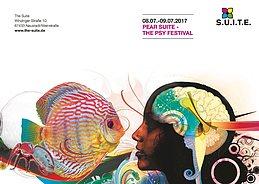 Party flyer: P.E.A.R. Suite / PsySuite 8 Jul '17, 22:00