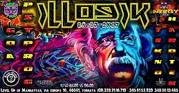 Party flyer: ๑۩۞۩๑Under Trip_ILLOGIK๑۩۞۩๑2 Stage Goa & Tekno 8 Jul '17, 23:00