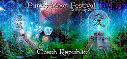 Party flyer: Funny Moon Festival 12 Jul '17, 22:00