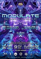 Party flyer: EPIC Tribe pres. MODULATE 15 Jul '17, 21:00