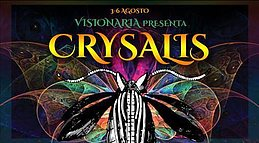 Party flyer: ःःःःछ Visionaria Crysalis छ ःःःः Il Festival 3 Aug '17, 18:00