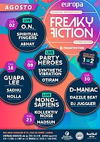 Party flyer: FREAKY FICTION 16 Aug '17, 23:00