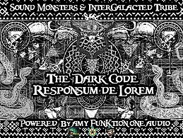 Party flyer: The Dark Code - Responsum de Lorem 25 Aug '17, 18:00