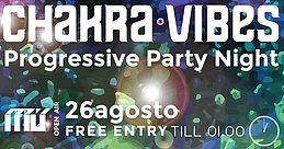 Party flyer: Chakra Vibes #11 - Open Air - Free ENTRY TILL 01.00 26 Aug '17, 23:00
