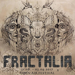 Party flyer: FRACTALIA Oper Air 31 Aug '17, 15:00