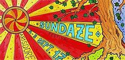 Party flyer: Sundaze Festival, 5th happening 2 Sep '17, 11:00