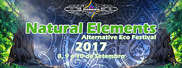 Party flyer: Natural Elements 2017 - Alternative Eco Festival 8 Sep '17, 22:00