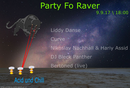 Party flyer: Party Fo Raver 9 Sep '17, 18:00