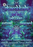 "Party flyer: Spirit Tribe Crew presents:""Journey To The Shambhala Experience 15 Sep '17, 22:00"