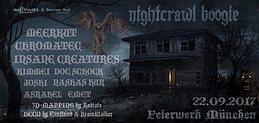 Party flyer: Nightcrawl Boogie 22 Sep '17, 22:00