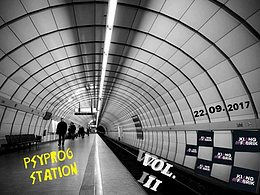 Party flyer: Psyprog Station Vol. 2 22 Sep '17, 23:00