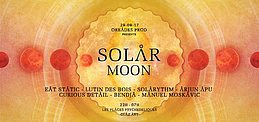 Party flyer: SOLAR MOON Paris დ╮ॐ╭დ╯Open Air 29 Sep '17, 22:00