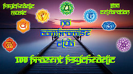 Party flyer: No Compromise 100% Psychedelic Goa 2 Oct '17, 22:00