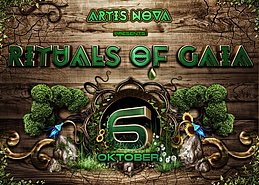Party flyer: Rituals of Gaia 6 Oct '17, 23:00