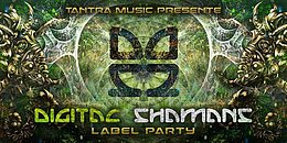 Party flyer: Digital Shamans Rec. Label Party - Open Air 7 Oct '17, 22:00