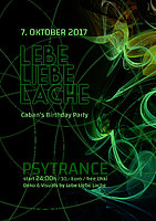 Party flyer: Dj Caban´s Birthday Bash 7 Oct '17, 22:00