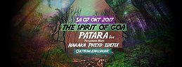 Party flyer: The Spirit of Goa 7 Oct '17, 23:00